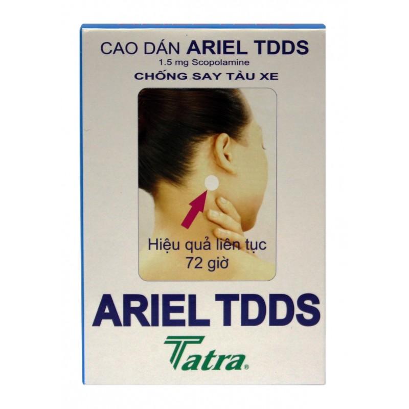 Ariel TDDS - Motion Sickness Patch