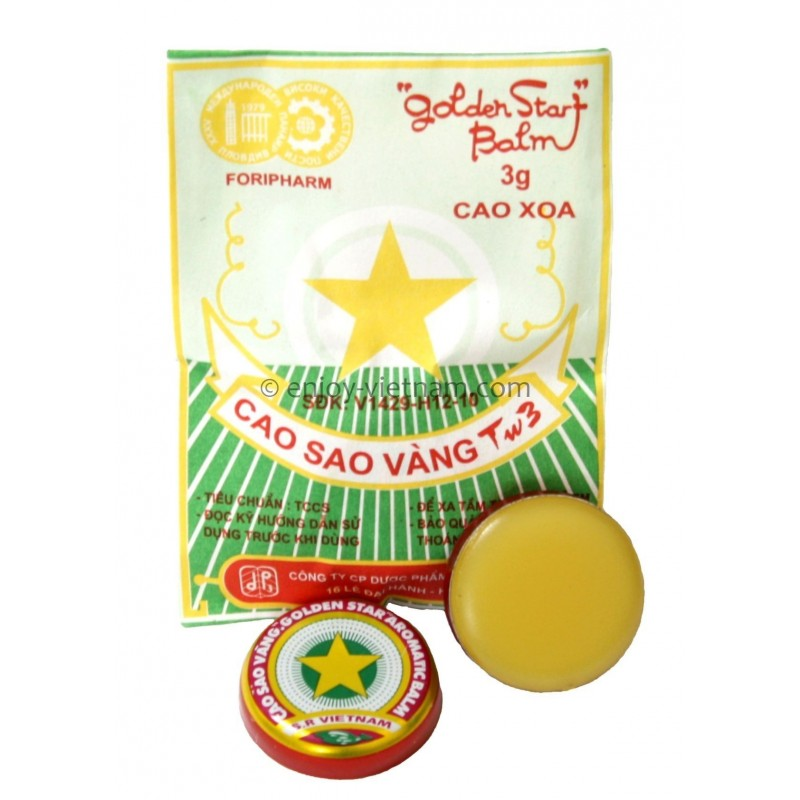 Golden Star Aromatic Balm 3g
