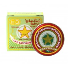 Golden Star Balm 8g - Cao Sao Vang
