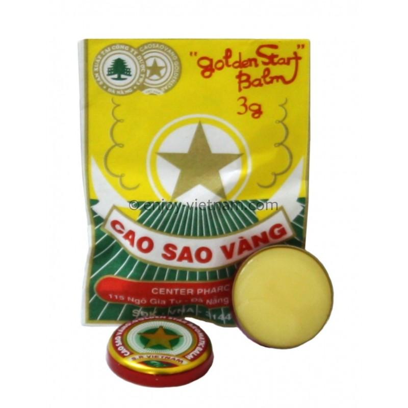 Golden Star Balm 3g - Cao Sao Vang TW3
