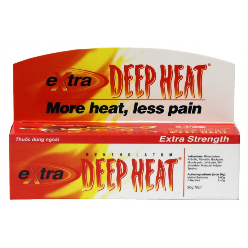 Extra Deep Heat Gel