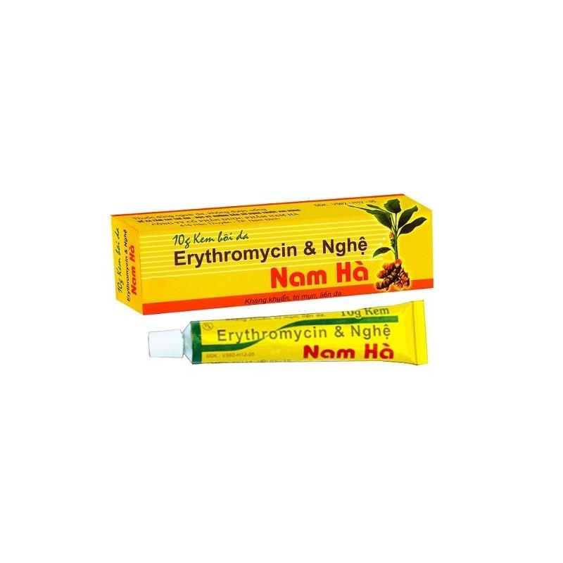 Erythromycin & Turmeric Cream