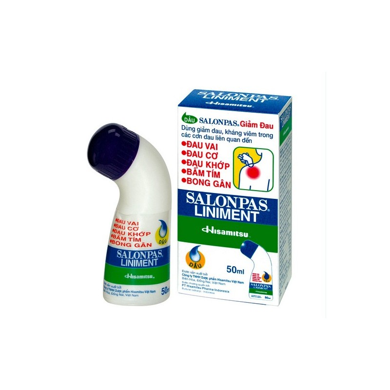 Salonpas Liniment | Salonpas Roll On Bottle