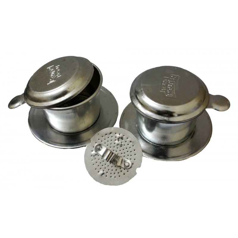 Set of Vietnamese Coffee Filter - Aluminium