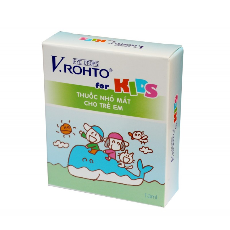 Vrohto For Kids Eye Drops For Kids 13ml Rohto Eye Drops